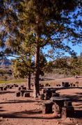 Stock Photo of Picnic Recreational Area