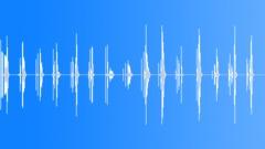 Stock Sound Effects of Hose Fitting Screwing Loop - metallic screw twist