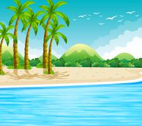 Ocean Stock Illustration