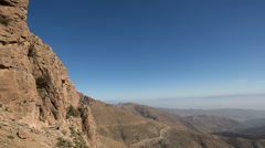 tiz n test atlas morocco mountains clouds timelapse - stock footage
