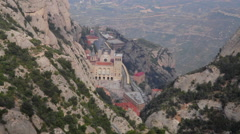 Stock Video Footage of MontSerrat convent
