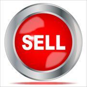 Sell Stock Illustration