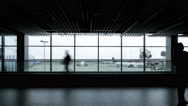 Stock Video Footage of Airport time lapse UHD