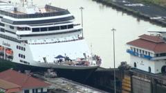 Panama Canal, Panama - November 2013 Stock Footage