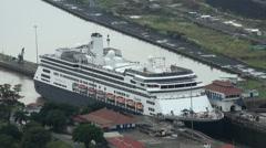 Panama Canal, Panama - November 2013 - stock footage