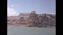 Vintage 16mm film, Lake Powell, 3-shot, 1965 Stock Footage