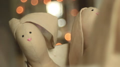 Christmas hares Stock Footage
