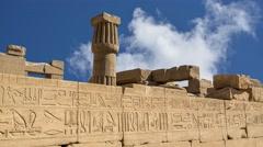 Karnak Temple Stock Footage