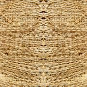 Linen fringes taken closeup.Abstract background. Stock Photos