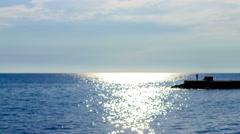 Sun reflection timelapse  Stock Footage