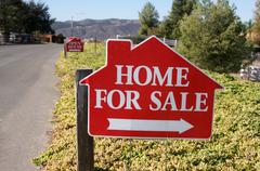 Home For Sale Signs Stock Photos