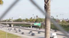 POV of 5 Freeway Stock Footage