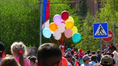 May 9 - Victory Day - stock footage
