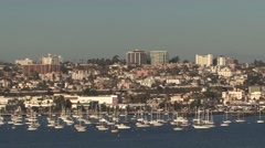San Diego Harbour Stock Footage