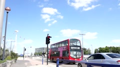 London Bus Stock Footage