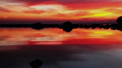Sunset on the beach, Railay, Thailand Stock Footage
