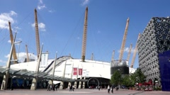 The O2 London UK - stock footage