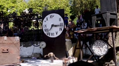 Stock Video Footage of The Lost Wheels of Time performed by Serious Clowns from United Kingdom, Germany
