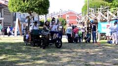 El Artefacto... Un Viaje sin Destino performed by La Calabaza from Spain Stock Footage