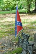 Confederate Flag - stock photo