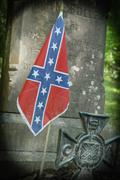 Confederate Grave - stock photo