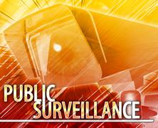 Stock Illustration of Public surveillance Abstract concept digital illustration