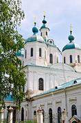Cathedral of the Savior in Yelabuga - stock photo