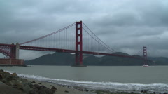 Golden Gate Bridge Time-lapse Stock Footage