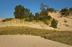 Warren Sand Dunes - stock photo