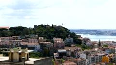 4K Portugal Lisbon Lisboa skyline Arkistovideo