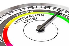 Stock Illustration of Motivation level concept