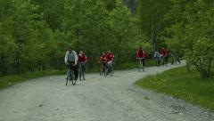 Bike adventure 3 Stock Footage