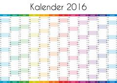 Kalender 2016 - GERMAN VERSION Piirros