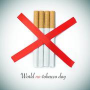 world no-tobacco day - stock photo