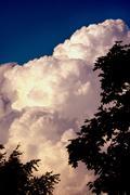 Heavenly Cloudscape - stock photo