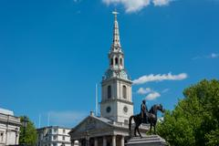 St Martin's-in-the-Field London - stock photo