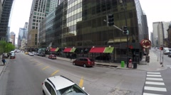 Driving in Chicago, Illinois Stock Footage