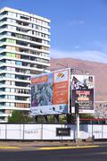 Sign About Apartment and House Sale in Iquique, Chile - stock photo