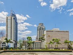 Manila Skyline Kuvituskuvat