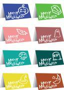 Halloween greeting vector illustration - stock illustration