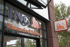 Ing facade Stock Photos