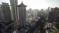 C K Tang - Tang Choon Keng, Tangs plaza along Orchard road Stock Footage