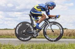 The Cyclist Sergio Paulinho - Tour de France 2012 - stock photo