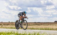 The Cyclist Richie Porte - Tour de France 2012 - stock photo