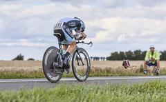 The Cyclist Levi Leipheimer - Tour de France 2012 - stock photo