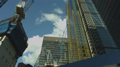 Natwest Tower slow pan UHD Stock Footage