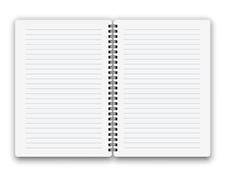 Stock Illustration of Copybook template