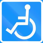 Itinerary For Handicapped In Finland Stock Illustration