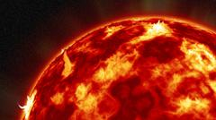 Solar Storm - stock illustration