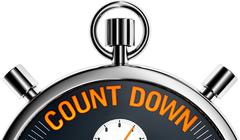 Count down Stock Illustration